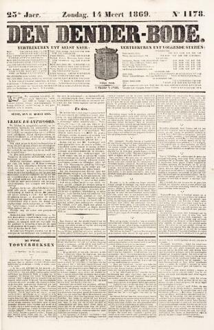 De Denderbode 1869-03-14