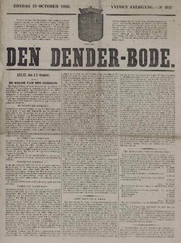 De Denderbode 1850-10-13