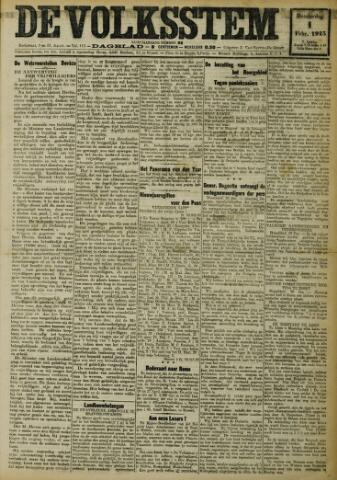 De Volksstem 1923-02-01