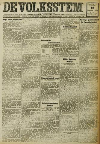 De Volksstem 1923-09-18