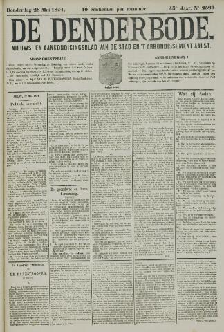 De Denderbode 1891-05-28