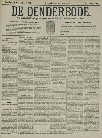 De Denderbode 1906-11-11