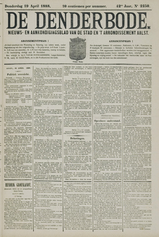 De Denderbode 1888-04-19