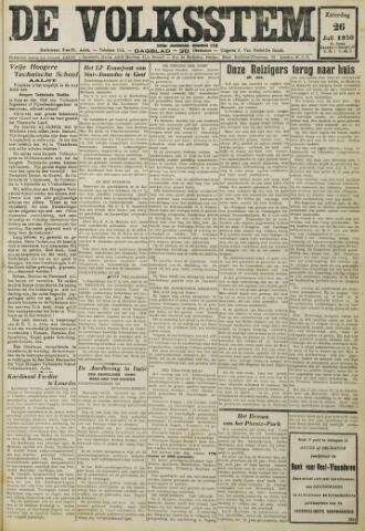 De Volksstem 1930-07-26