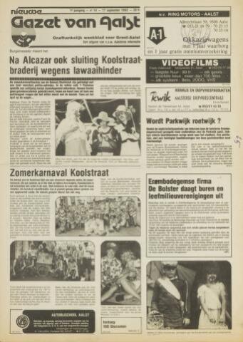 Nieuwe Gazet van Aalst 1982-09-17