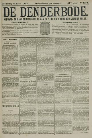 De Denderbode 1893-03-02