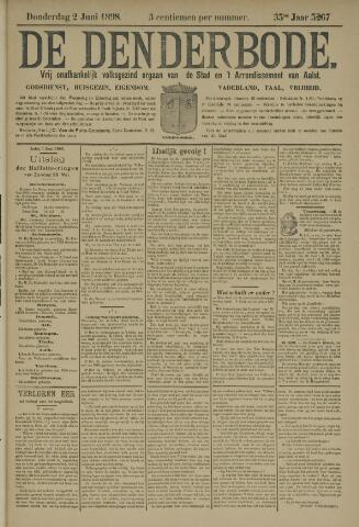 De Denderbode 1898-06-02