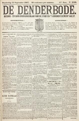 De Denderbode 1887-09-15