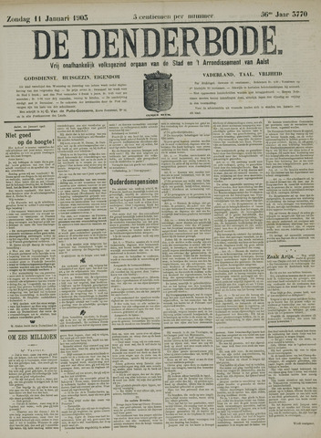 De Denderbode 1903-01-11