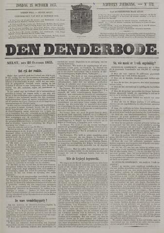 De Denderbode 1853-10-23