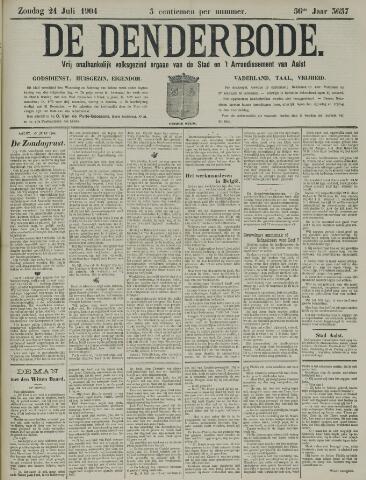 De Denderbode 1904-07-24