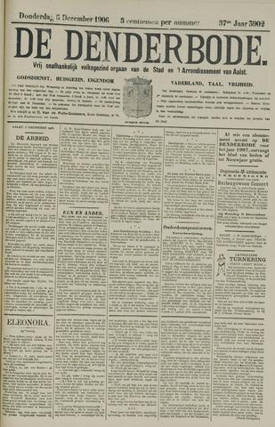 De Denderbode 1906-12-06