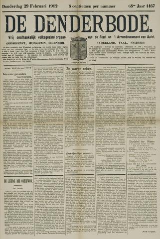De Denderbode 1912-02-29