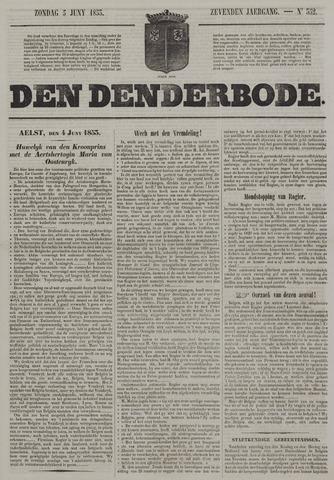 De Denderbode 1853-06-05
