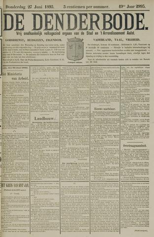 De Denderbode 1895-06-27