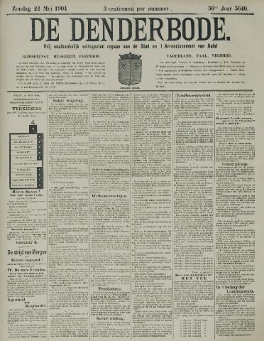 De Denderbode 1904-05-22