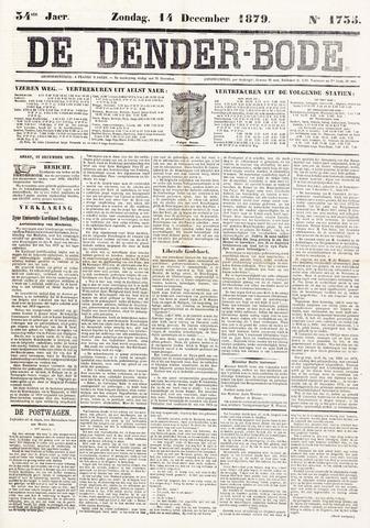 De Denderbode 1879-12-14