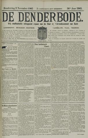 De Denderbode 1903-11-05