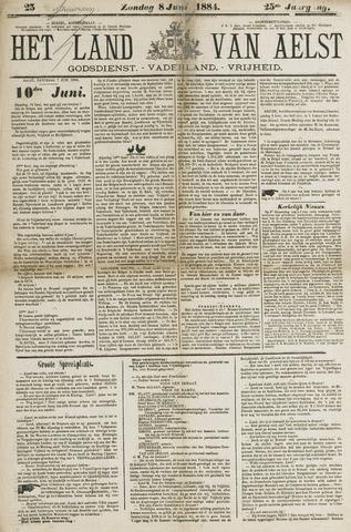 Het Land van Aelst 1884-06-08