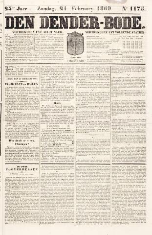 De Denderbode 1869-02-21