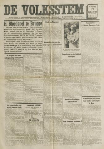 De Volksstem 1938-07-29