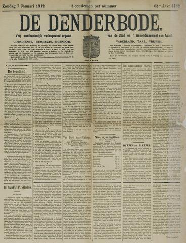 De Denderbode 1912-01-07