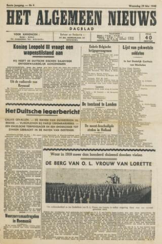 Het Algemeen Nieuws 1940