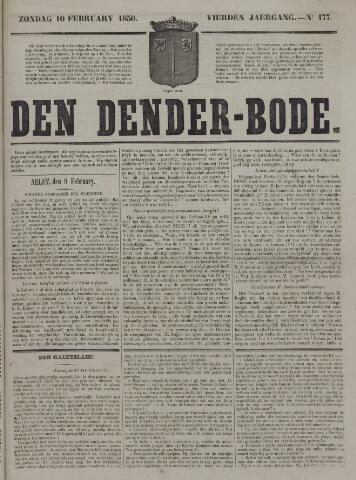 De Denderbode 1850-02-10