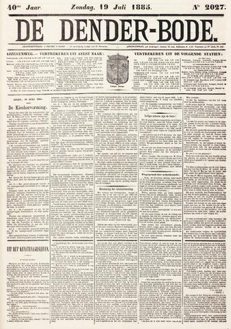 De Denderbode 1885-07-19