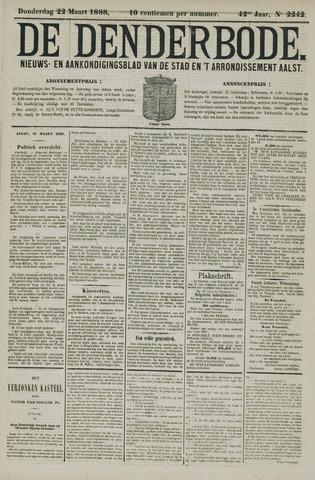 De Denderbode 1888-03-22
