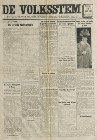 De Volksstem 1938-03-06