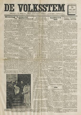 De Volksstem 1938-11-24