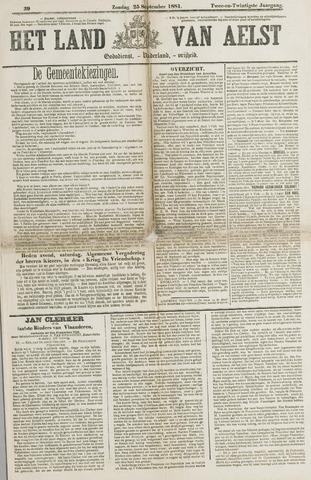 Het Land van Aelst 1881-09-25