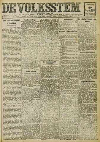 De Volksstem 1923-12-20