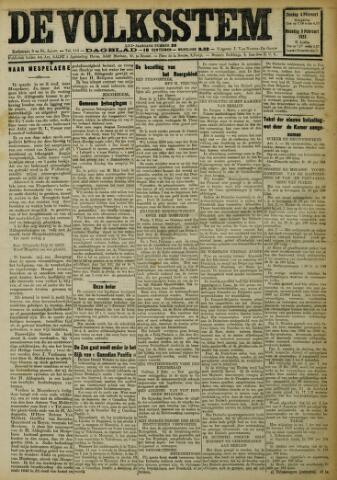 De Volksstem 1923-02-04