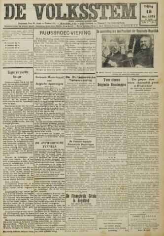 De Volksstem 1931-12-18