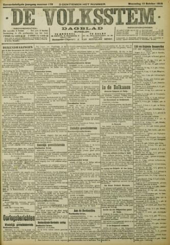 De Volksstem 1915-10-13
