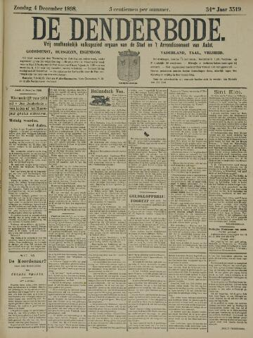 De Denderbode 1898-12-04