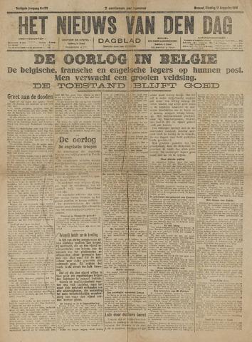 Het Nieuws van den Dag 1914