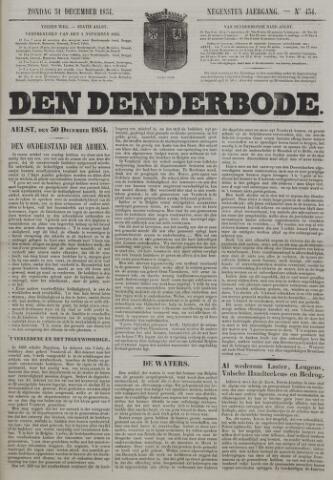 De Denderbode 1854-12-31
