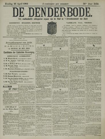 De Denderbode 1904-04-24