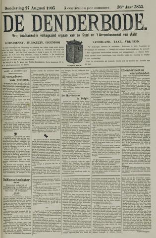De Denderbode 1903-08-27