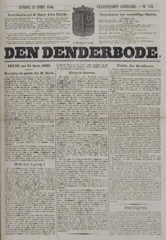 De Denderbode 1860-04-15