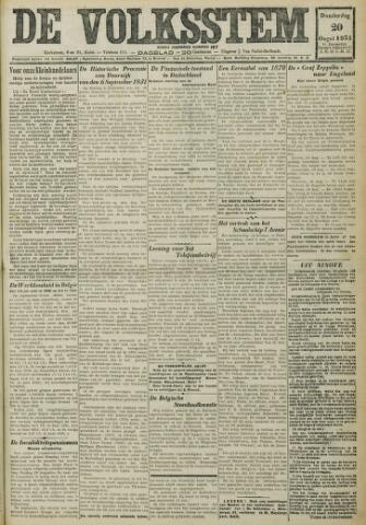 De Volksstem 1931-08-20