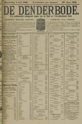 De Denderbode 1896-07-09