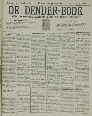 De Denderbode 1891-09-13