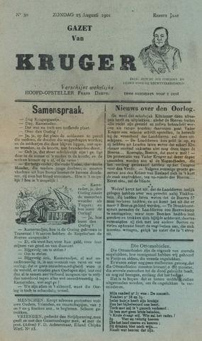 Kruger 1901-08-25
