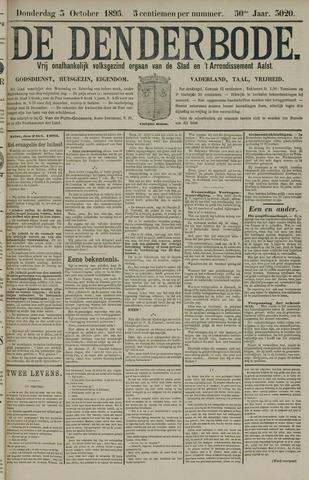 De Denderbode 1895-10-03