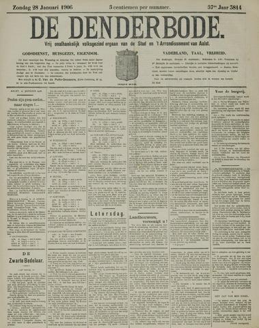 De Denderbode 1906-01-28