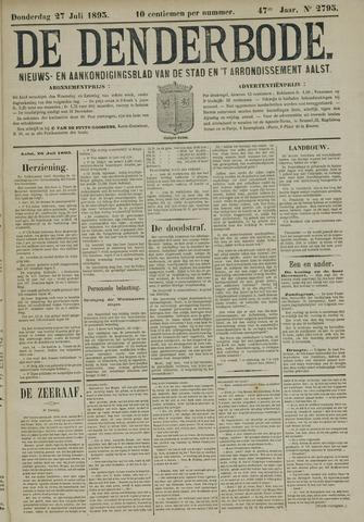 De Denderbode 1893-07-27